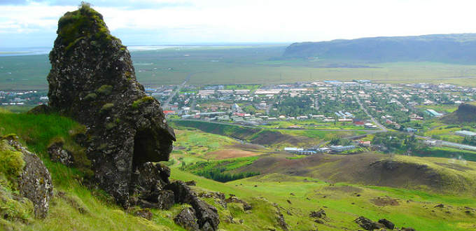 We told you it was fairly nice. The village of Hveragerdi in Iceland. PIC fjarlq