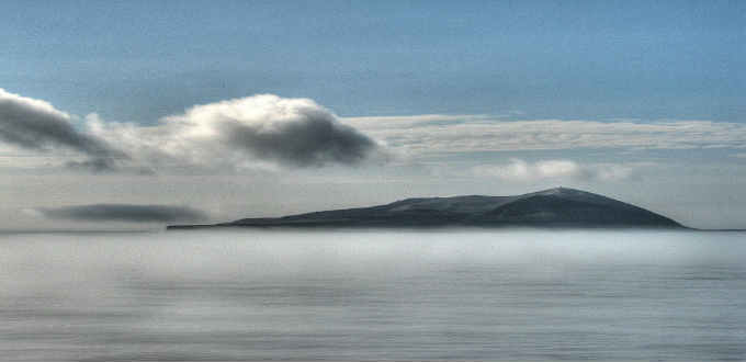 Inviting isn´t it? But the tiny island of Surtsey is off limits to all. PIC Michael Clarke Stuff