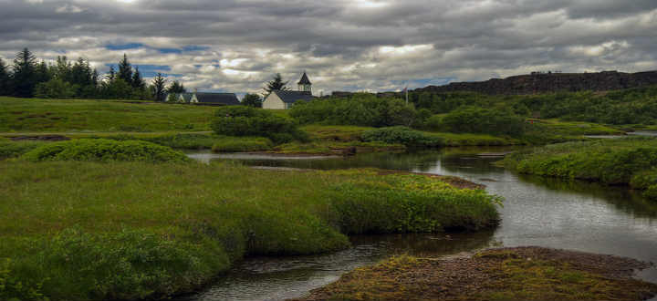 One thing often overlooked regarding Thingvellir is how somehow this place oozes tranquility, even when crowded with people. PIC marijirousek