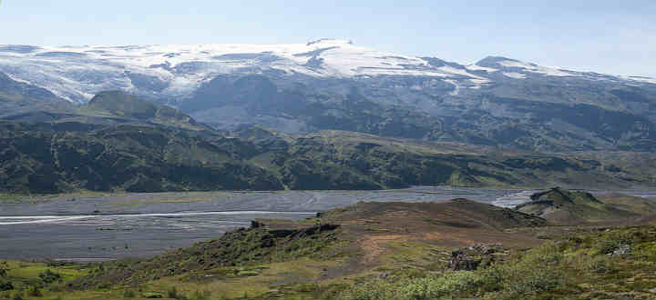 Hugged in by highlands and the infamous Eyjafjallajokull glacier, Thorsmork nature reserve is world class. PIC Britt Marie Sohlstrom