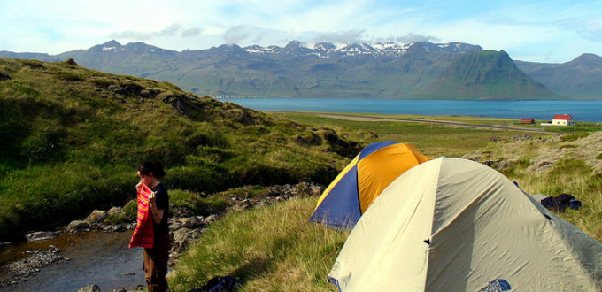 Camping is a fine way of exploring Iceland but also prices there have been exploding. PIC rwhgould