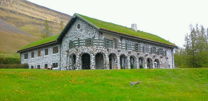 Nowhere else in Iceland will you come upon such a building as Skriduklaustur. Remarkably remote too. PIC silkeybeto