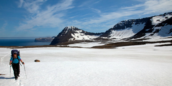 On average the weather in Iceland is nicer than in both Europe or US in deep winter. PIC Yodod