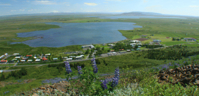 The small village of Laugarvatn is popular with locals. PIC uTexas