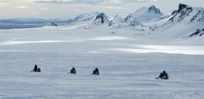 Care, care and care when stepping unto a glacier in Iceland. PIC philborg