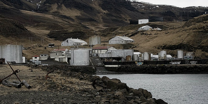 The only operating whaling station in Iceland is found, incidentally, in Whalefjord. PIC thorgilsv