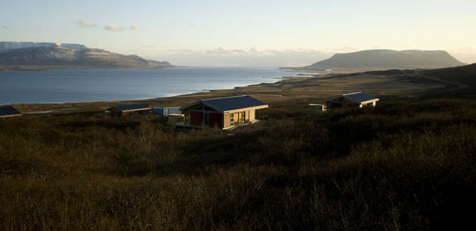The view from Hotel Glymur is great... except for the industrial complex nearby polluting everything. PIC Ben Husmann