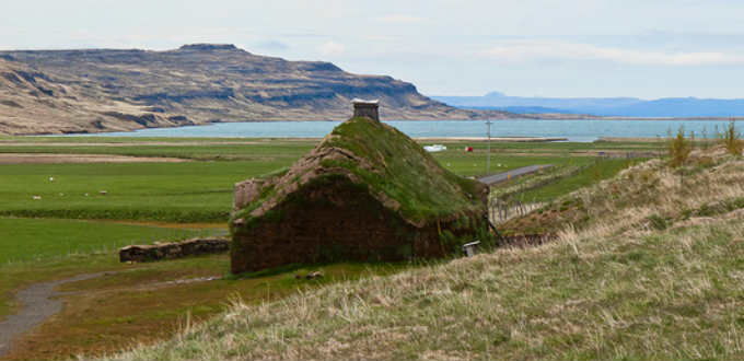The rather remote birth place of the first European to sail to America in Iceland. PIC aleph78