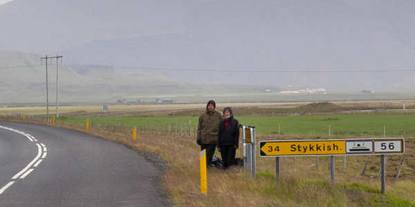 Time wasted in Iceland by hitchhiking. PIC Patrick Rosenberg