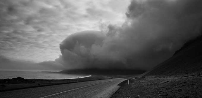 The danger of sandstorms is certainly existent in Iceland but really nothing to worry about. PIC Patrick Gensel