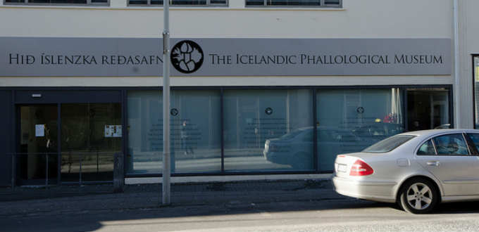 Phallological Museum in Laugavegur Iceland attracts a number of visitors but take note of the next door place too. PIC Nick Ison
