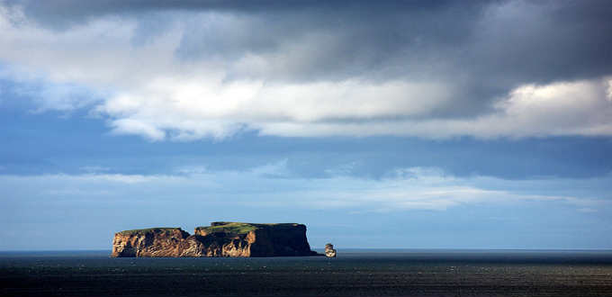 We think the island is quite lovely. The man who called this home for a time before was anything but. PIC Manuel Forget