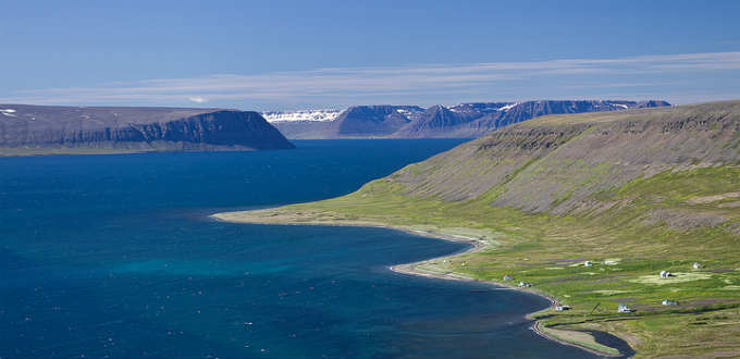 The last farms at Hesteyri before the wilderness of Hornstrandir peninsula in Iceland takes over. Turns our the wilderness is still pretty polluted. PIC M