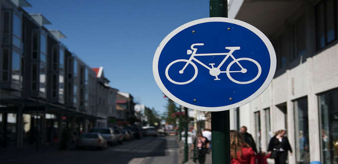 Amazingly there is no bike-share program in the green capital of Iceland. PIC jhenryrose