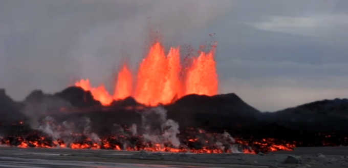 Impressive stuff. Eruption in Holuhraun could go on for years. PIC Ruv