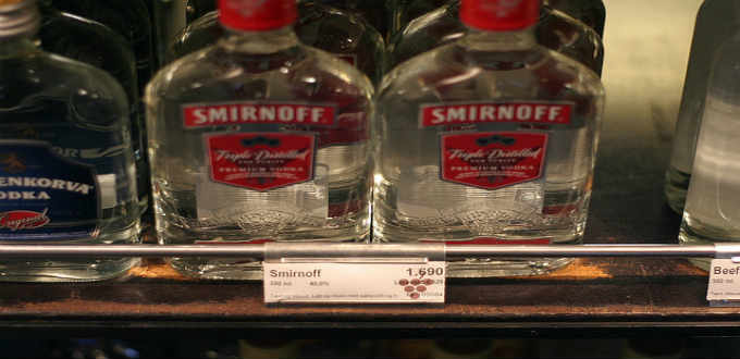 Liquor is not very cheap in Iceland but a lot cheaper in monopoly stores than in bars or restaurants. PIC darren webb