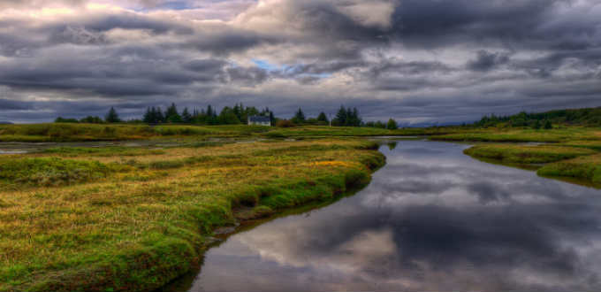 Thingvellir National Park. A number of scenes from the popular Game of Thrones have been shot here. PIC Axel Kristinsson