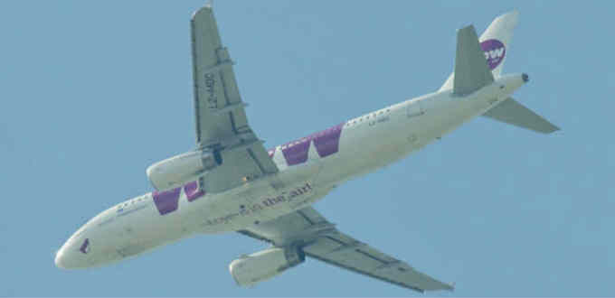 The local low-cost airline Wow Air hardly stands up to its name. PIC Aero Icarus