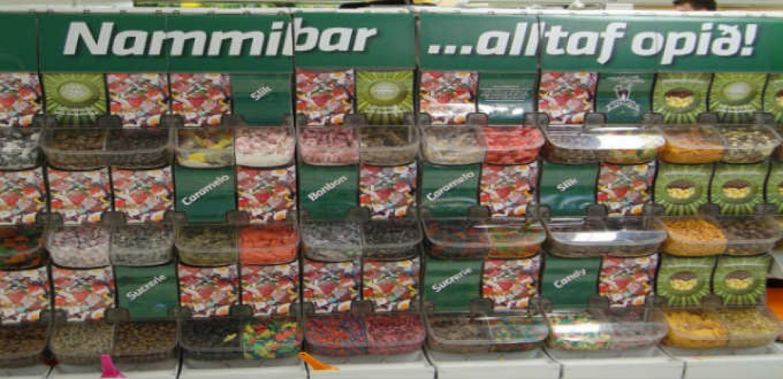 In Iceland, a real Candy Krush every Saturday