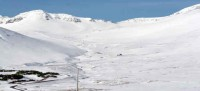 At Siglufjordur Iceland, nice skiing but not best ski area you´ve never heard of