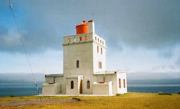 Dyrholaey lighthouse