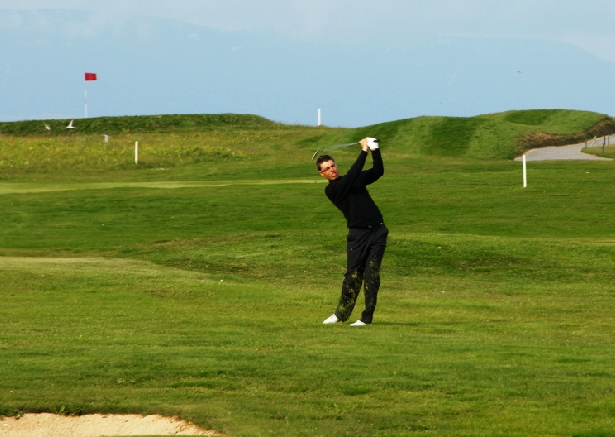 Best fix for a slice in golf is found in Iceland
