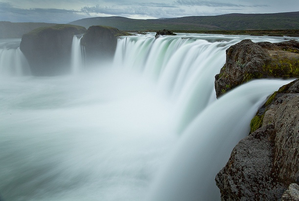 In Iceland, milk and honey and waterfall of the Gods