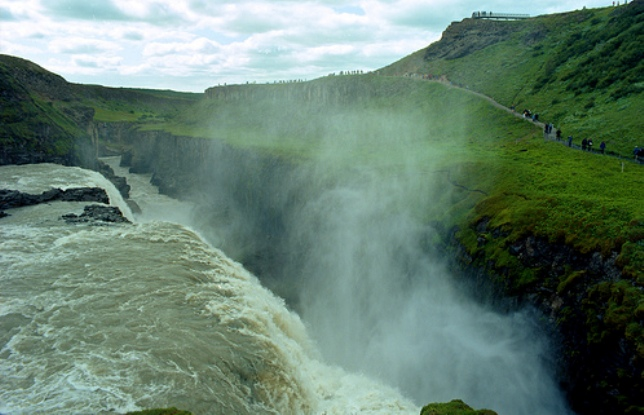 Golden Circle in Iceland reaching saturation point