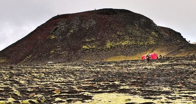 In Iceland, the very best music video made inside a volcano