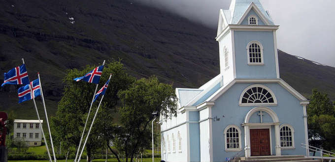 Eerie indeed but that just adds to the fascination in Seydisfjordur town. PIC Tanio Ho