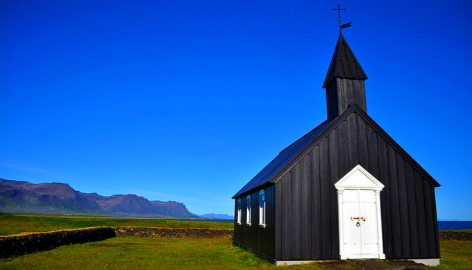 Black sand piqued your interest about Iceland? Try black churches