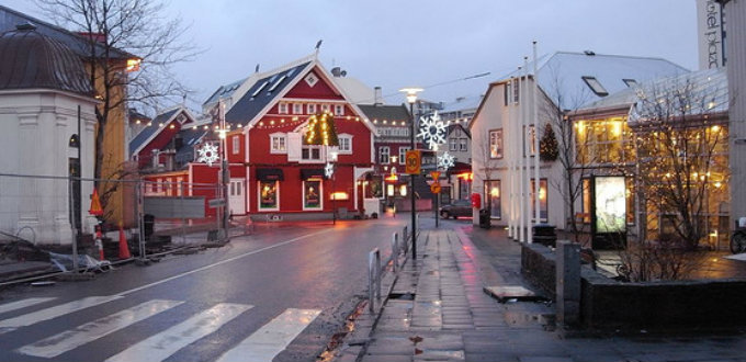 No, you won´t find much open in Iceland over Christmas