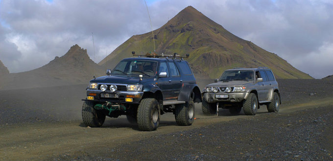 Renting a superjeep in Iceland a pretty bad idea