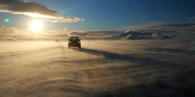 What happens if you get caught speeding in Iceland