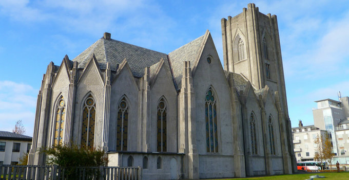 Two must-see churches in Reykjavik Iceland