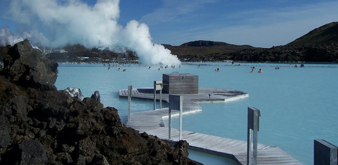 So why is the Blue lagoon blue?