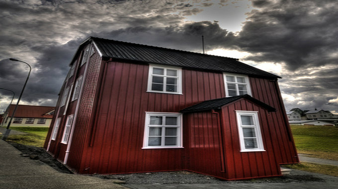In this place, Egilsen, you might find one of a handful of people responsible for the economic crash of Iceland. PIC Dr.Jaus