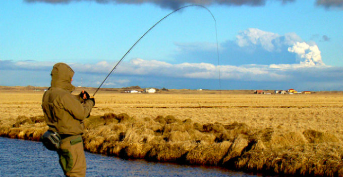 Leisure fishing easy and cheap in Iceland