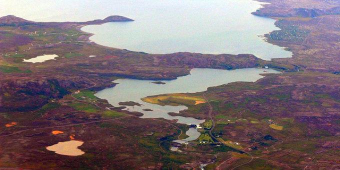 Lake Ulfljotsvatn is right next to Thingvellir lake but much smaller. PIC NK Eide