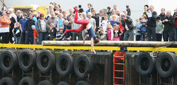 Remembering dead fishermen in Iceland the fun way