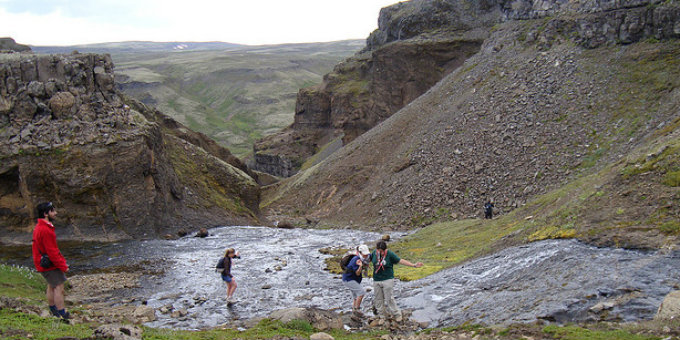 Only in Iceland would an easy trekking route be called Legbreaker
