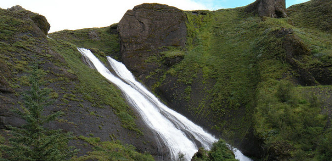 The small but fascinating Sisters Falls in Kirkjubaejarklaustur is a must-see. Make the trek along the river to the lake nearby. PIC Lo´eil de Thomas