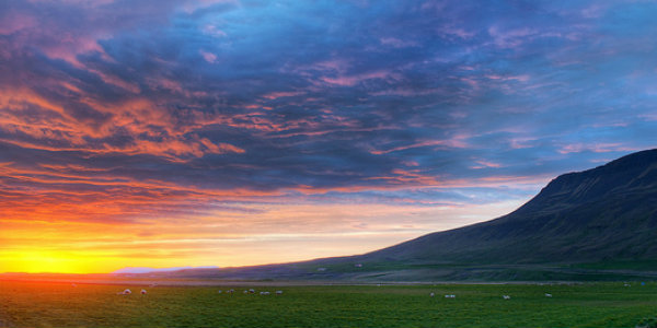 The strange custom of rolling around naked at midnight in Iceland