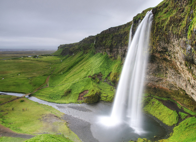 Why you should think twice about getting married by Seljalandsfoss in Iceland