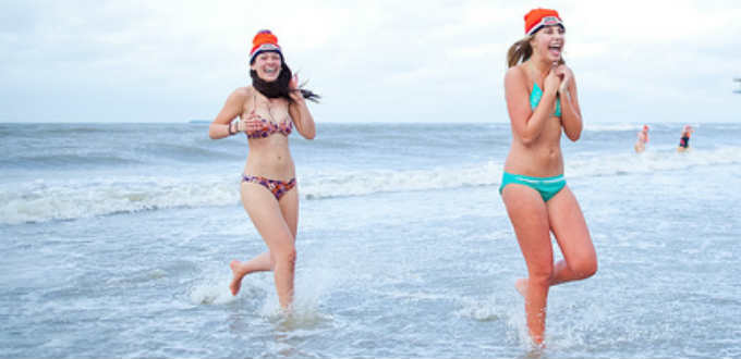 Apparently, sea swimming in Iceland makes one horny