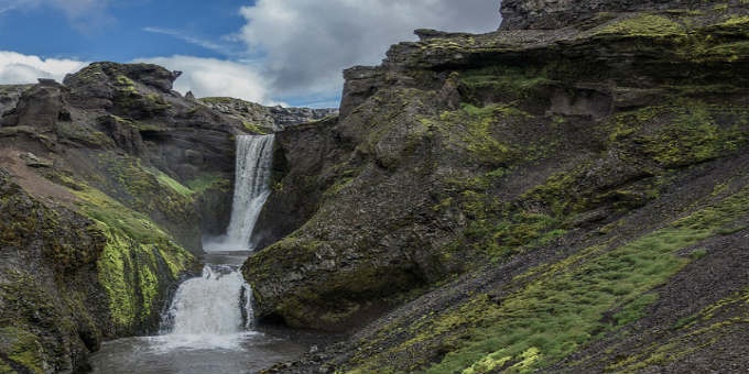 Following Skogaa river above Skogafoss waterfall you soon find more to rejoice about. PIC BestofDanSilver