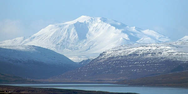 In the East of Iceland a view to die for