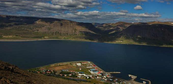 Semi-Viking style at Thingeyri in Iceland