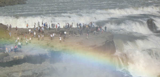 The throngs of tourists now touring the Golden Circle are too many for locals to keep up. PIC Bruce McAdam