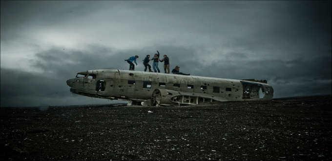 Funky adventures on Solheimasandur Iceland